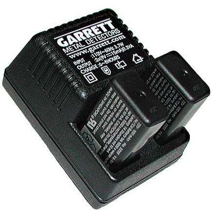 Garrett Rechargeable Battery Kit, 2 Ni-MH Battery and 110V Charger for CSI PRO-POINTER, SuperWand, THD and Super Scanner