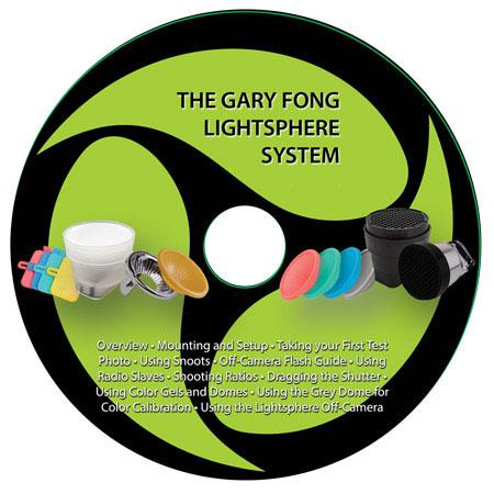 Gary Fong DVD Lighting Tutorial - A Comprehensive Tutorial DVD for Sony Cameras by