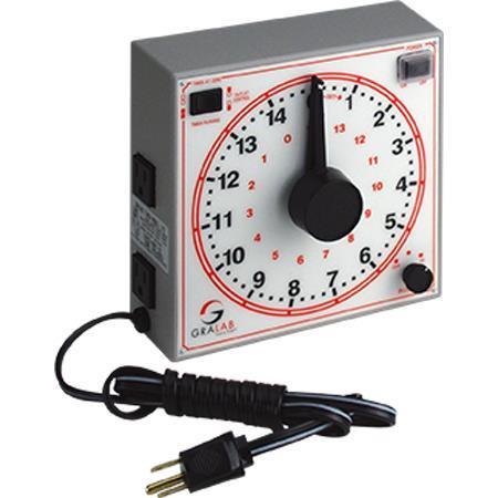 Gralab 172 15-Minute Timer, 220V, 50Hz
