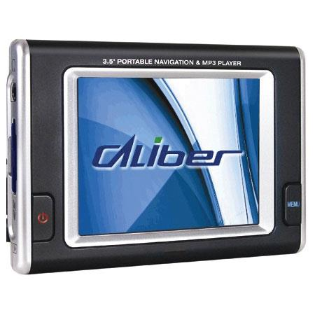 """Caliber P-3600 Car GPS Navigation System with 3.5"""" TFT Color LCD Touch Screen & Secure Digital (SD) Card Slot image"""