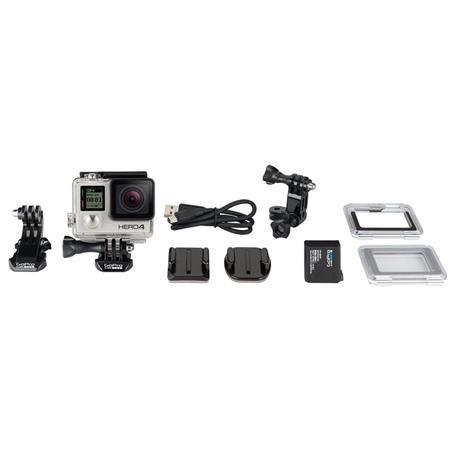 GoPro Hero 4 Silver Moto Camera Kit