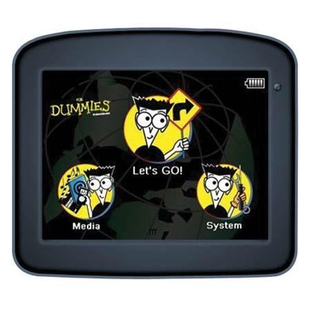 "Maylong ""GPS Navigation For Dummies"" FD-250 Car GPS Navigation Unit with 3.5"" Touch Screen Display and Pre-loaded Map image"