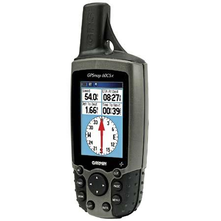 """Garmin GPSMAP 60CSx, """"X""""-treme Handheld Mapping GPS Receiver with 64 MB Micro SD Card and USB Interface image"""