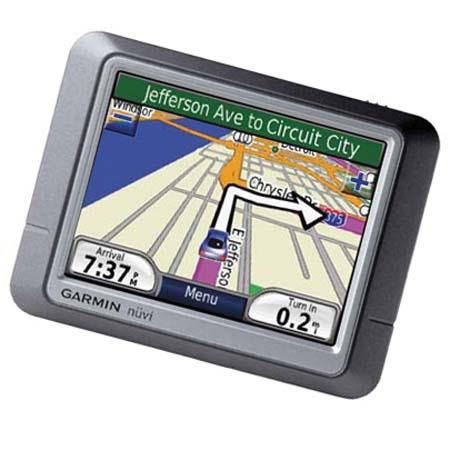 "Garmin nuvi 270, Portable GPS Car Navigator & Personal Travel Assistant with 3.5"" LCD Touch Screen and USB Interface image"