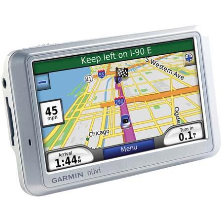 "Garmin Nuvi 750, Portable GPS Car Navigator & Personal Travel Assistant, 4.3"" LCD Touch Screen, Voice Prompts, Preloaded for North America, MSN Direct image"