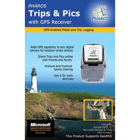 Pharos Trips & Pics with GPS Receiver and USB Interface image