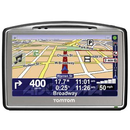 """TomTom GO 720 Car GPS Navigation System with 4.3"""" TFT Color LCD Touch Screen, Voice Address Input image"""