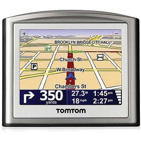 "TomTom One S Car GPS Navigation System with 3.5"" TFT Color LCD Touch Screen, Preloaded Maps, US and Canada - Refurbished by TomTom image"