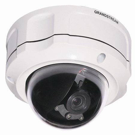 Grandstream Networks Fixed Dome IP66 Video Surveillance Camera, 1.2MP, 720p, Vandal-Resistant/Weather-Proof