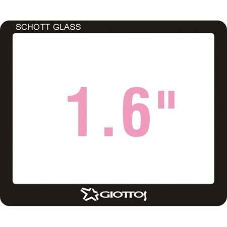 "Giottos Aegis 36.45x29.85mm Professional Glass LCD Screen Protector for 1.6"" LCDs, 12 Layers of Multi-Coatings Each Side."
