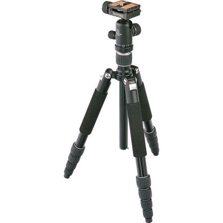 Giottos 5-Section Aluminum Tripod/Monopod with Ballhead, 5.4' Max Tripod Height, 8.8lbs Load Capacity