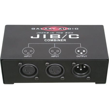 Galaxy Audio JIB/C Jack In The Box One-Channel Input Expander