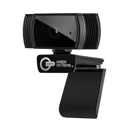 Green Extreme Green Extreme T200 HD Webcam 1080p 30FPS Widescreen Mode, Autofocus System, Hi-Speed USB 2.0
