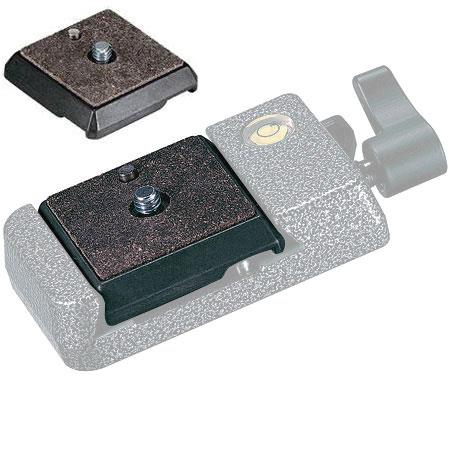 "Gitzo Square Quick Release Plate with 3/8"" Screw image"
