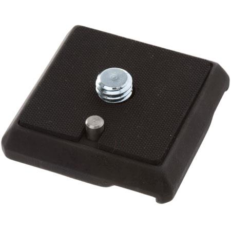 """Gitzo Quick Release Plate Adapter with 1/4"""" & 3/8"""" Screw for Most Gitzo Heads image"""