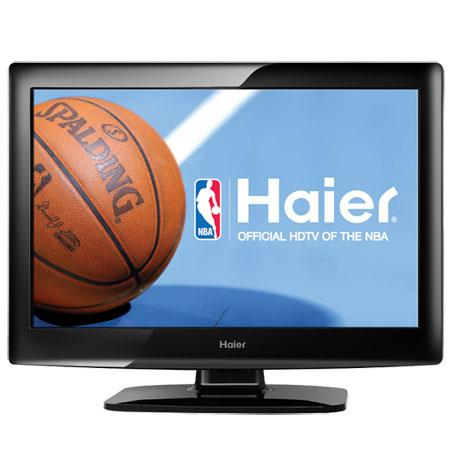 "Haier L22B1120 22"" 720p LCD HDTV with 2100:1 Contrast Ratio, 60Hz Refresh Rate, Black"