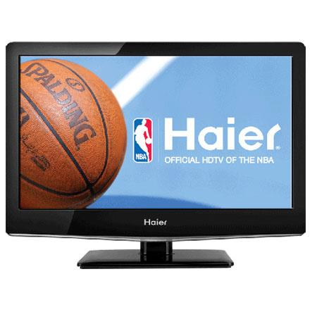 "Haier LEC19B1320 19"" LED Combo HDTV/DVD, 720p Resolution, 60Hz Refresh Rate"