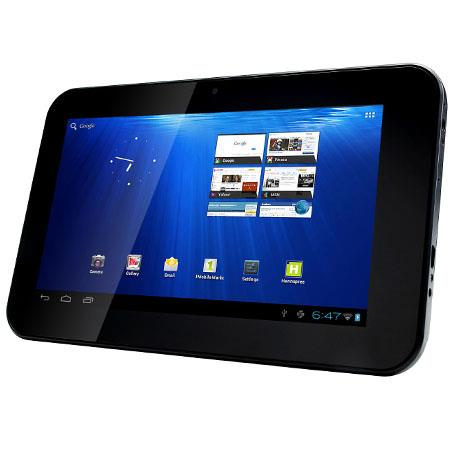 "Hannspree HannsPad SN70T31BUA 7"" Android 4.0 Tablet, ARM Cortex A8 1.0GHz, 512MB Memory, 4GB Flash"