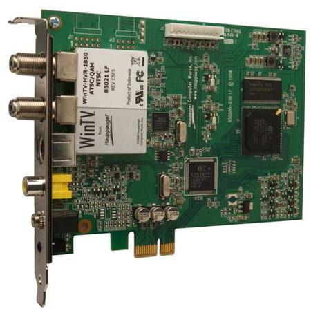 Hauppauge WinTV-HVR-850 Combo TV Tuner MC-Kit, Dual Tuner PCI Express NTSC/ATSC/QAM TV Tuner board for Windows Vista