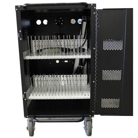 Hamilton Buhl 30-Bay Tablet and iPad Charging and Storage Cart