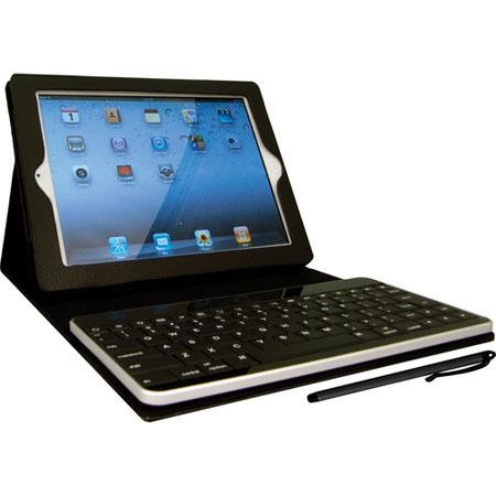 Hammerhead Leather Bluetooth Keyboard Case for iPad 2 & iPad 3 - Black