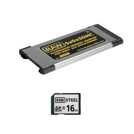 Hoodman 16GB SDHC Class 10 Memory Card and Adapter Kit