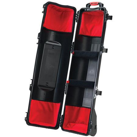 HPRC 6300TRIB Wheeled Hard Case for Tripods with Soft Interiors Kit, Black