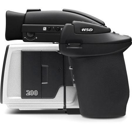 Hasselblad H5D-200MS Medium Format DSLR Camera, 50MP Resolution, 36.7x49.1mm CCD Sensor, 128 - 1/800sec Shutter Speeds