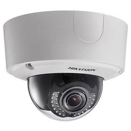 Hikvision 6MP Smart IP Outdoor Dome Camera with 2.8-12mm Motorized Varifocal Lens, H264, Day/Night, IR, Audio, Alarm I/O,...