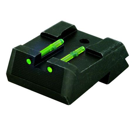HiViz KB2110 Replacement Kimber 1911 Fiber Optic Rear Pistol Sight, Green