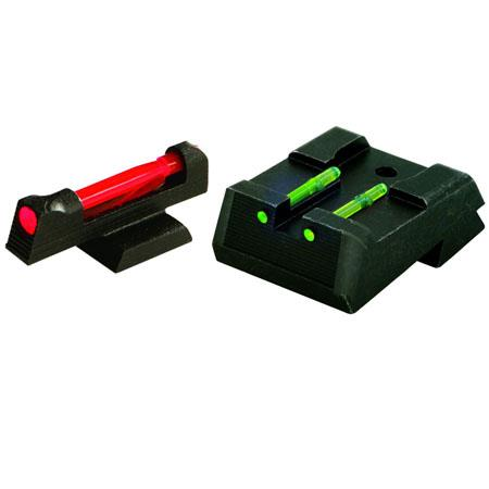 HiViz KB2210 Replacement Kimber 1911 Fiber Optic Front & Rear Pistol Sight Set