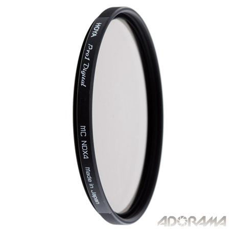 Hoya 72mm DMC PRO1 Digital ND4X (0.6) Neutral Density Filter image