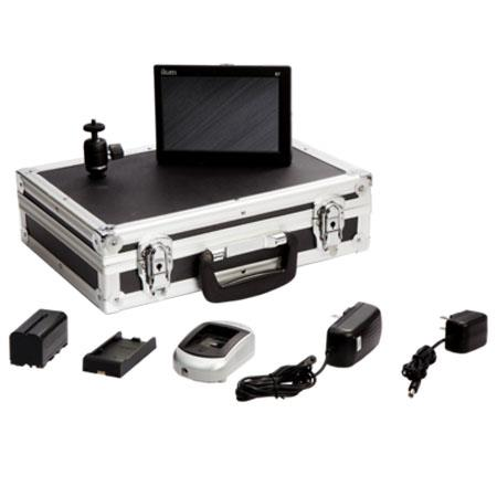 iKan D7 Field Monitor Deluxe Kit for Canon LP-E6 Battery