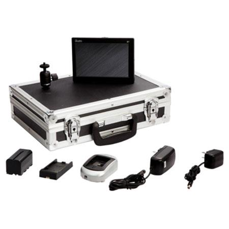 iKan D7w Field Monitor Deluxe Kit for Canon LP-E6 Battery