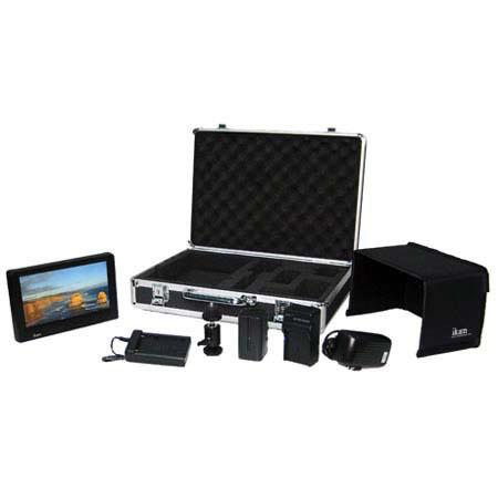 "ikan V7000DK Deluxe Kit with 7"" TFT LCD Monitor and Metal Carrying Case"