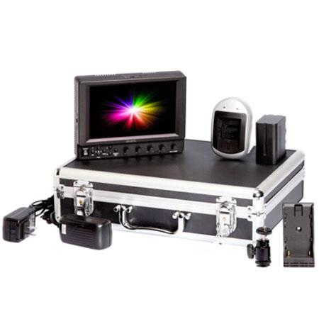 iKan VX7i Field Monitor Deluxe Kit for Canon LP-E6 Battery