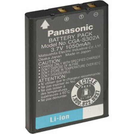 Adorama Replacement Lithium Ion Battery for the Panasonic CGA-S302A Digital Camera Battery, 3.6v, 900mAH