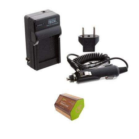 Flashpoint LP-E5 Lithium-Ion Rechargeable Battery for Canon EOS with AC/DC Battery Charger