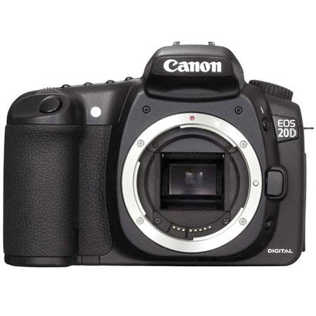 Canon EOS-20D Digital SLR Camera Body Kit, 8.2 Megapixels, Interchangeable Lenses - Refurbished By Canon U.S.A. image