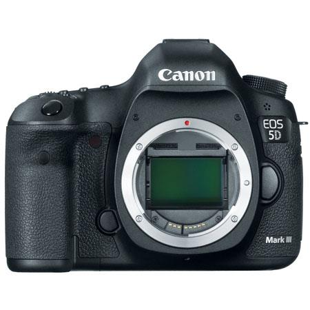 Canon EOS-5D Mark III Digital SLR Camera Body, 22.3 Megapixel - USA Warranty