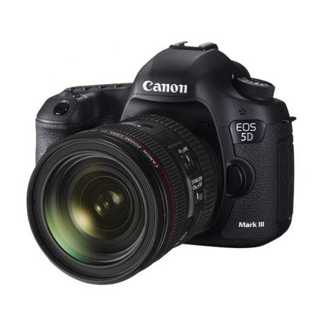 Canon EOS-5D Mark III Digital SLR Camera Body Kit with EF 24-70mm f/4L IS Lens - Special Promotional Bundle