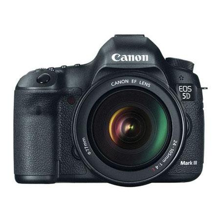 Canon EOS-5D Mark III SLR Camera Kit W/ EF 24-105L BUNDLED with Pro Printer Deal plus Valuable Accessories FREE