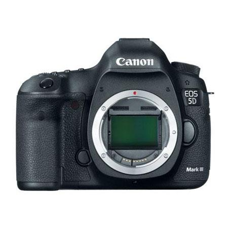 Canon EOS-5D Mark III Digital SLR Camera Body, 22.3 Megapixel - USA Warranty - Special Promotional Bundle -