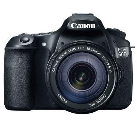Discount Electronics On Sale Canon EOS 60D Digital SLR Camera Body Kit, 18 Megapixel, Black with EFS 18-135mm f/3.5-5.6 IS Lens - U.S.A. Warranty