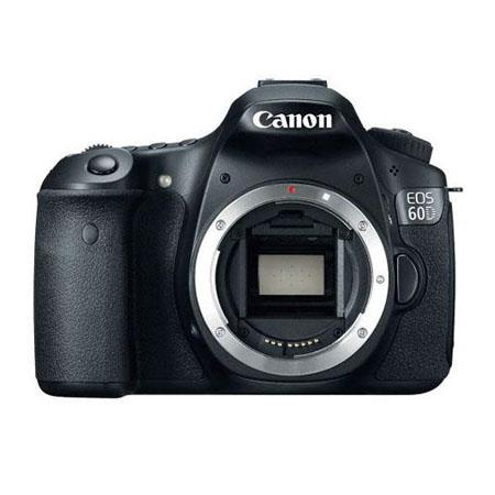 Canon Canon EOS 60D Digital SLR Camera Body, 18 Megapixel, 5200x3462 Pixels, 3:2 Aspect Ratio, Black - Special Promotional Bundle