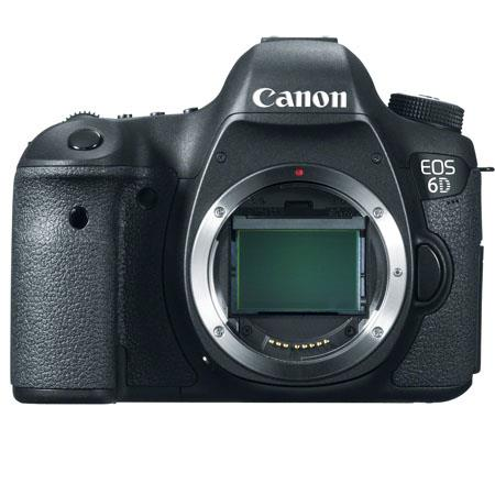 Canon EOS-6D Digital SLR Camera Body, 20.2 Megapixel, Full Frame CMOS Sensor