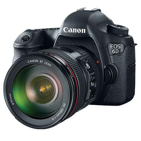 Canon EOS 6D Digital SLR Camera Kit with EF 24 105mm f/4L IS USM Lens