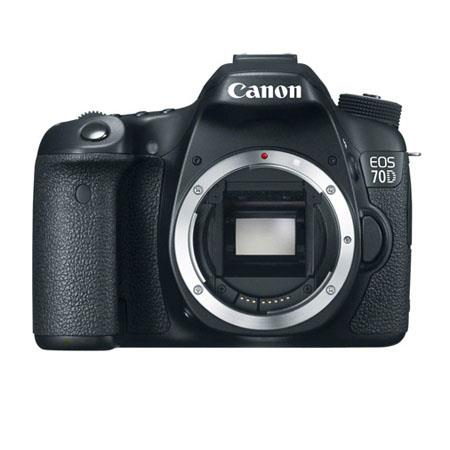 Canon EOS 70D Digital SLR Camera Body - Special Promotional Bundle