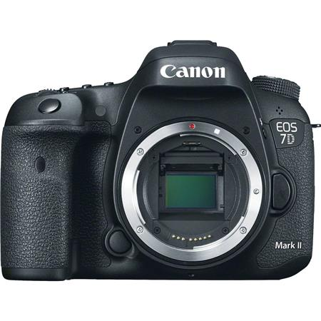 "Canon EOS 7D Mark II DSLR Camera Body, 20.2MP, 3.0"" Display, Dual Pixel CMOS AF, Full HD 1080p/60 Video, Continuous 10fps Shooting, GPS & Digital Compass"