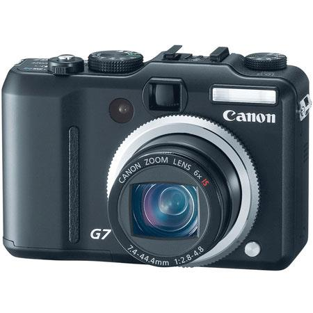 Canon Powershot G-7 Digital Camera Kit, 10.0 Megapixel, 6x Optical Zoom, 4x Digital Zoom, Optical Image Stabilizer image